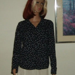 Blouse L by SO Authentic Amer. Heritage Long Slv.